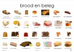 brood en beleg plaat
