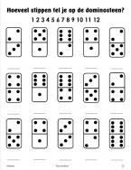 rekenen en tellen - dominostenen