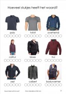 woordstukjes thema's - kleding