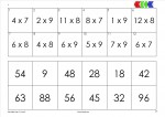 loco tafel van 7-8-9