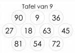 tafelspel 8 en 9