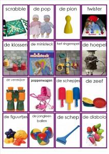 speelgoed memorie